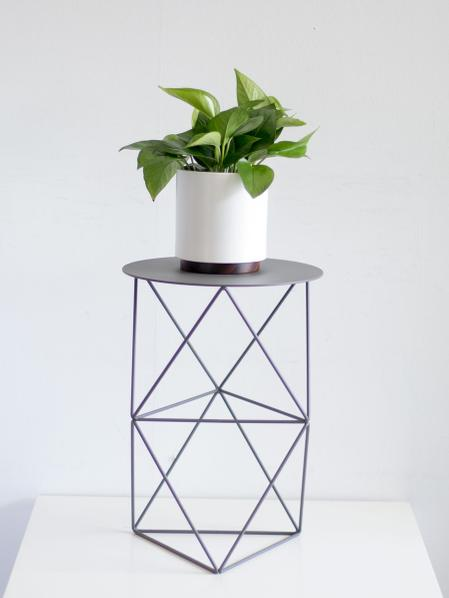 Octahedron Plant Stand Tall