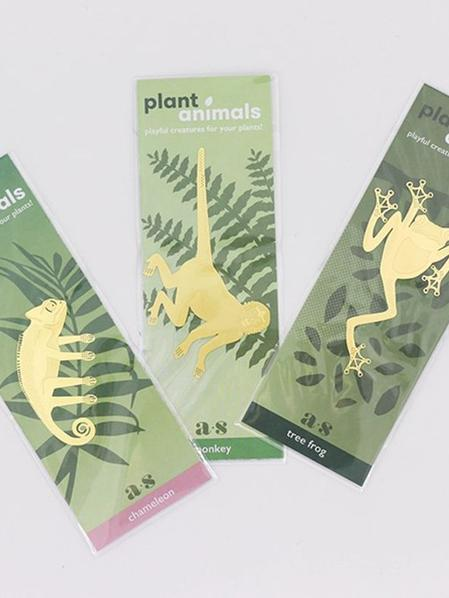 S/3 Plant Animals - Caméléon & co
