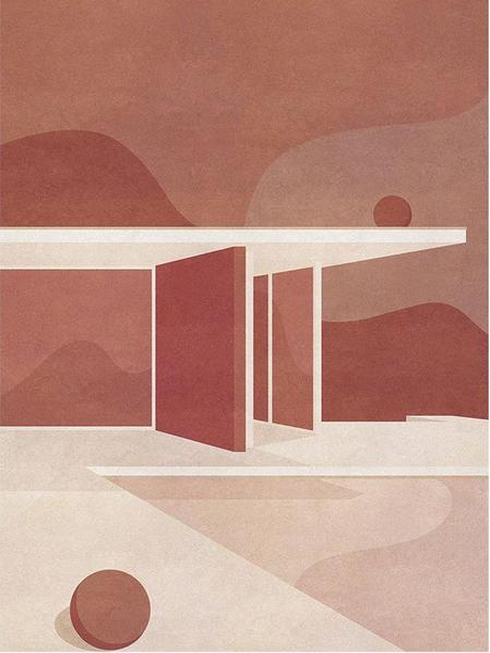 The Barcelona Pavilion, Part I by Charlotte Taylor